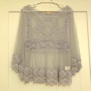Altar'd state lace top sz small
